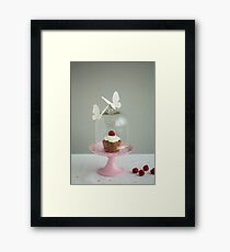 Cup Cake Framed Print