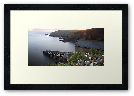 The Old Lizard Lifeboat Station, Cornwall by Andrew Hocking