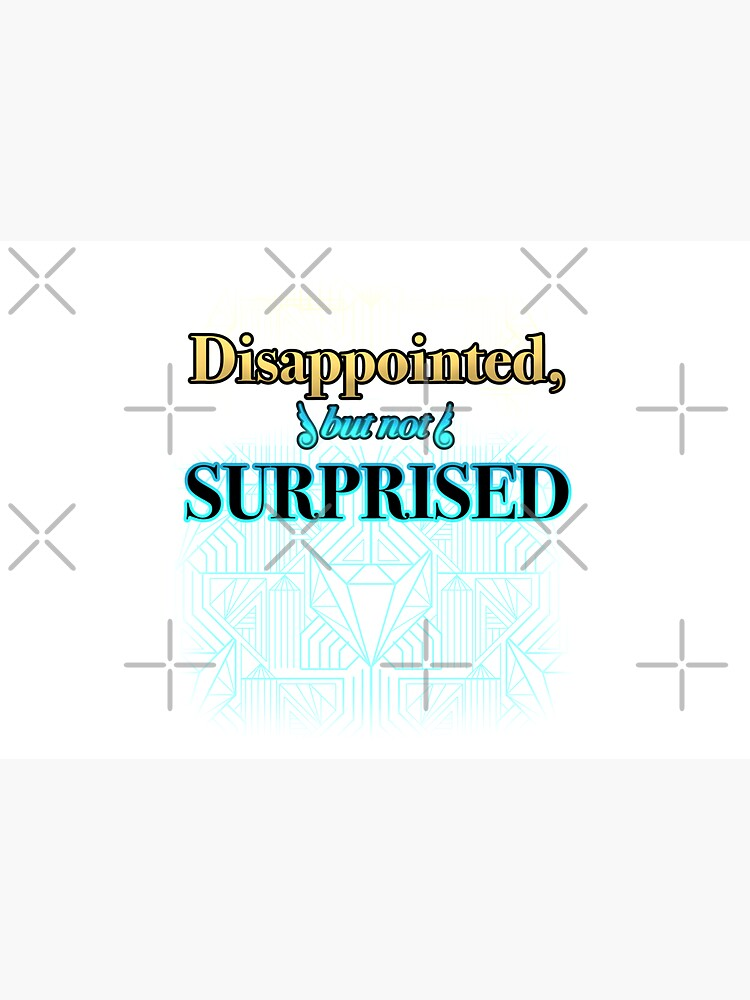 Disappointed, But Not Surprised by OSPYouTube