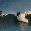 Caught a wave,Torquay Surf Beach by Joe Mortelliti