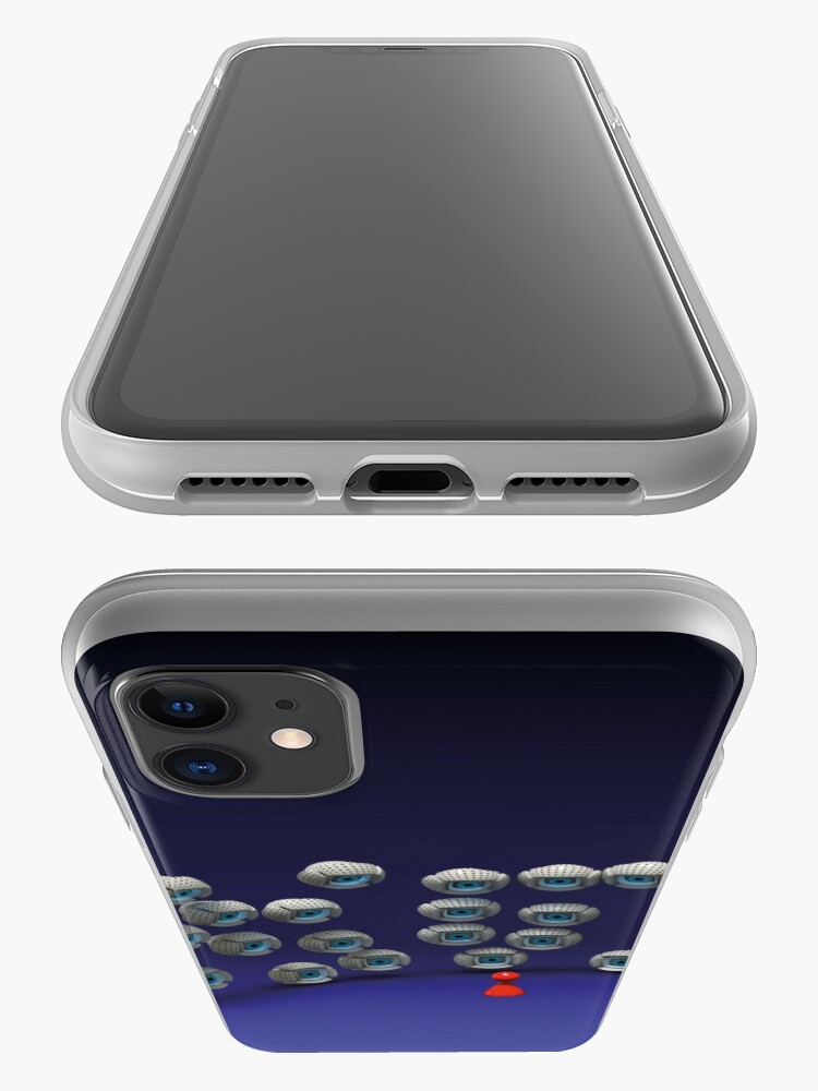 Alternate view of all eyes on me iPhone Case & Cover