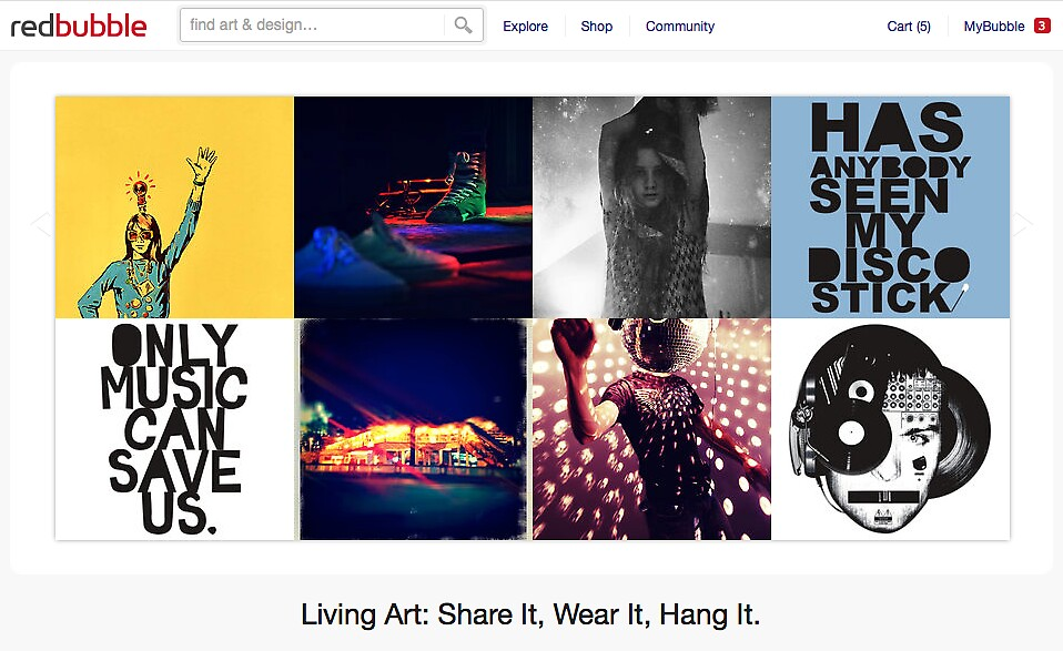 Disco Disco - 28 August 2011 by The RedBubble Homepage