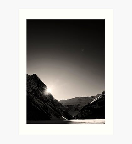 Shine Upon Lake Louise Art Print