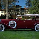 1932 Packard 903 Deluxe Eight Sport Phaeton by TeeMack