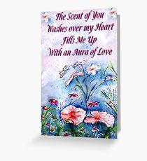 Aura of Love - Greeting Card Greeting Card