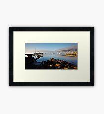 Boats off Battery Point, Hobart, Tasmania #3 Framed Print