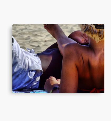 something of blond 11 Canvas Print