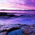Rock Pool, South East Tasmania by James Nielsen