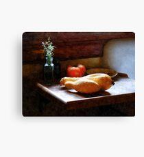 Squash and Tomato Canvas Print