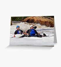 Canoe 445 Greeting Card
