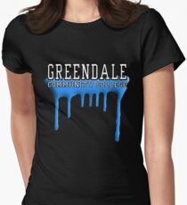 Community - Greendale Paintball Blue Women's Fitted T-Shirt