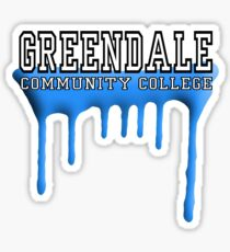 Community - Greendale Paintball Blue Sticker