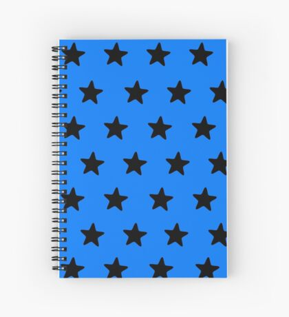 Black n blue Spiral Notebook