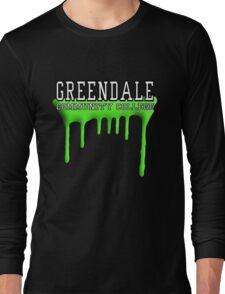 Community - Greendale Paintball Green Long Sleeve T-Shirt