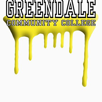 Community - Greendale Paintball Yellow by BBanny1