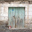Rustic Door No. 10 by Glennis  Siverson