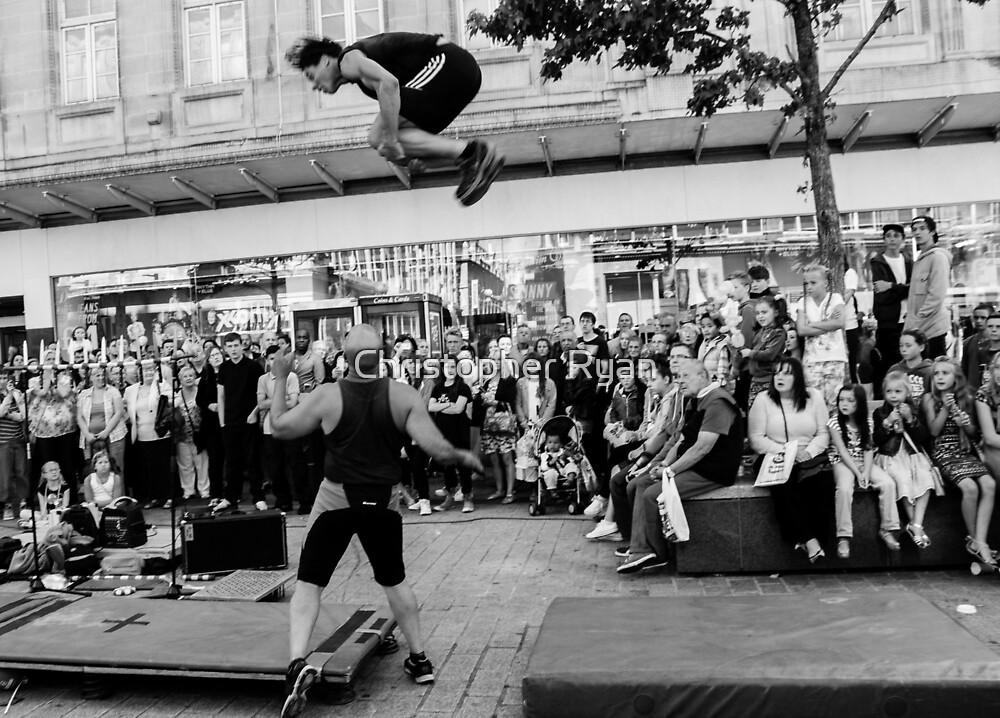 Street Performer I by Christopher Ryan