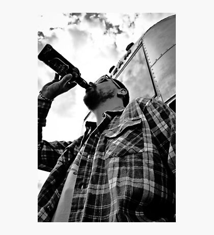 Drink Today and Drown all Sorrow Photographic Print