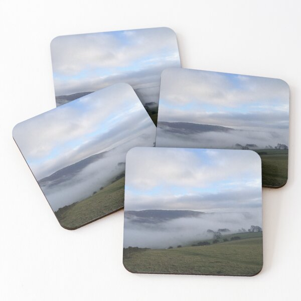 Fog in the Valley Coasters (Set of 4)