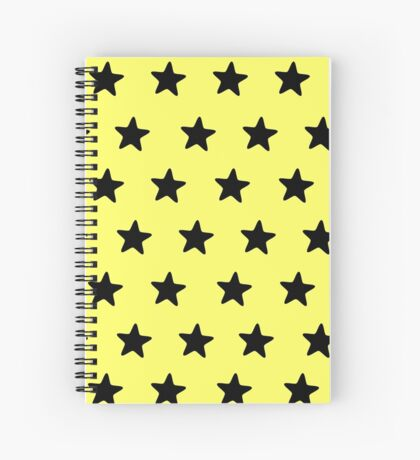 Be yellow Spiral Notebook