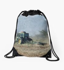 Working The Ground With John Deere Drawstring Bag
