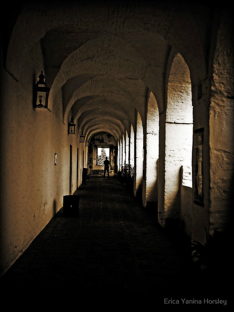 A Corridor from Jesuitic Times by Erica Yanina Horsley