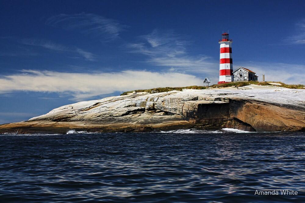 Sambro Island Lighthouse by Amanda White