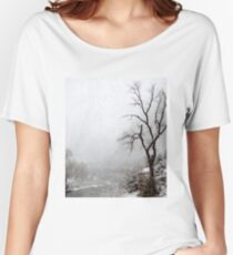 Zion Snowstorm Women's Relaxed Fit T-Shirt