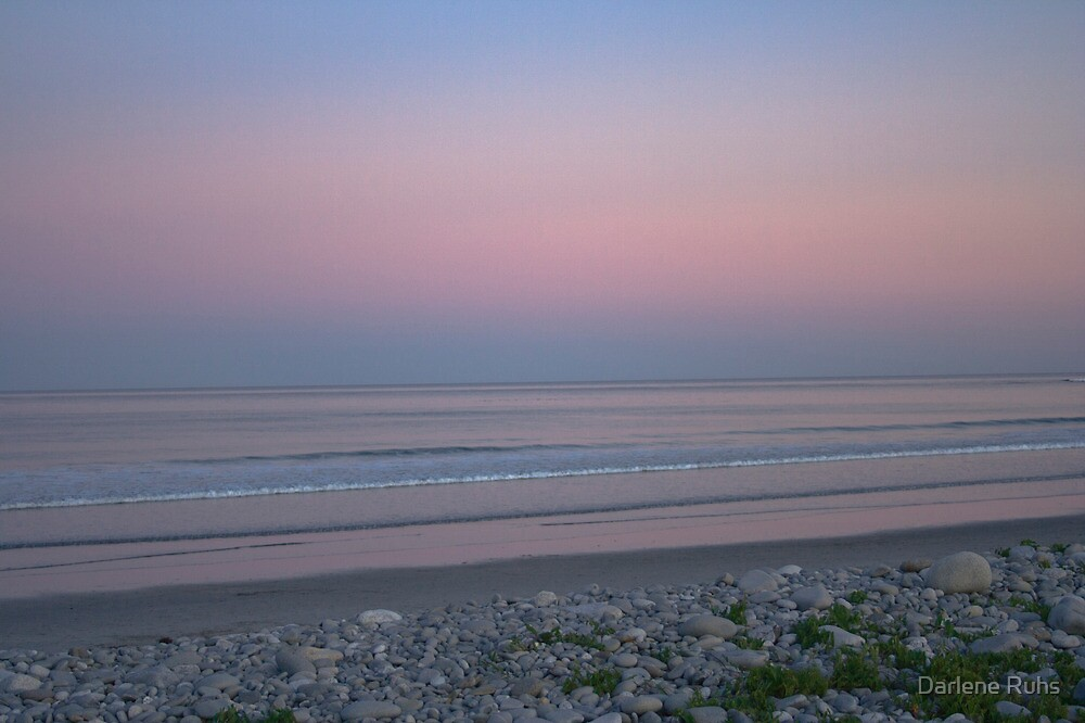 Cotton Candy Serenity - White Point Beach, NS by Darlene Ruhs