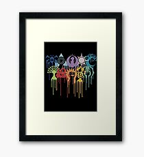 Graphic Guilds Framed Print