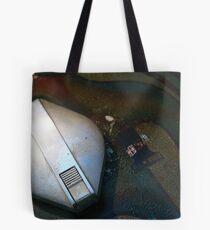 Puckett's Filling Station - VINTAGE BSA  Racer- AMERICAN PICKER - LEIPERS FORK  Tote Bag