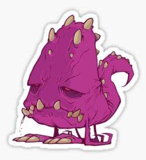 Monster-vector Sticker