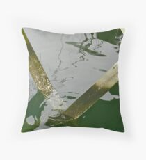 Pilings and Tides Throw Pillow