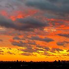Summer Sunset in New York City  by Alberto  DeJesus