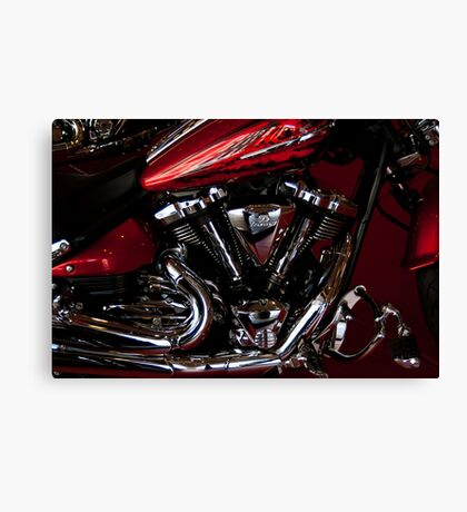 Side Shot Harley Canvas Print