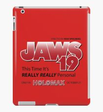 Jaws 19 - Back to the Future iPad Case/Skin