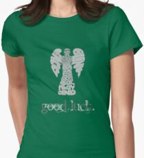 Beware the Weeping Angel Womens Fitted T-Shirt