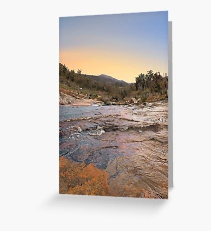 Beraking Brook - Western Australia  Greeting Card
