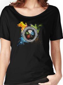 Elemental  Battle Women's Relaxed Fit T-Shirt