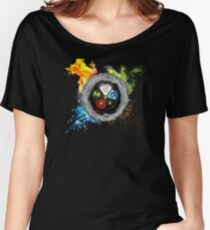Elemental  Battle Women's Relaxed Fit T-Shirt