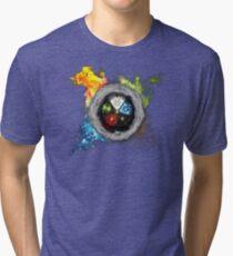 Elemental  Battle Tri-blend T-Shirt
