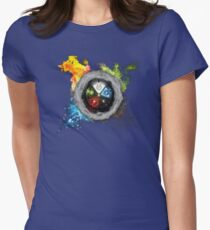 Elemental  Battle Womens Fitted T-Shirt