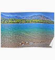 HDR - Lake Walchensee - Germany Poster