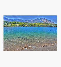 HDR - Lake Walchensee - Germany Photographic Print