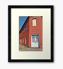 Historic Charm Framed Print