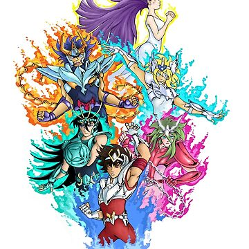Saint Seiya 2 by 9999DamagePoint