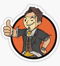 Vault Hunter Jack Sticker