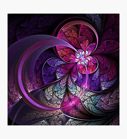 Fly - Abstract Fractal Artwork Photographic Print