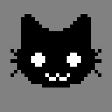 8-bit kitten by deerley