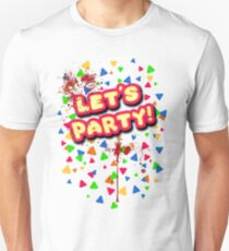 Five Nights at Freddy's - FNAF - Let's Party - Toy Chica Bloody Unisex T-Shirt